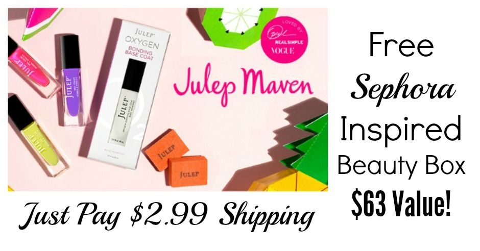 Free sephora inspired beauty box beauty box julep maven