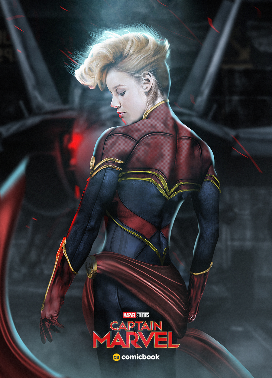 This Is What Brie Larson Could Look Like With Captain Marvel's Mohawk