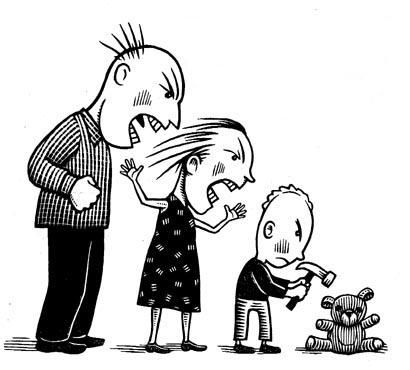 Blackmail, Violence And Emotional Abuse As Parenting Tools