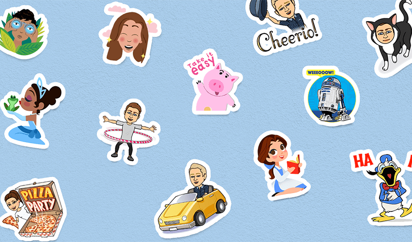 You Can Now Share Bitmoji And Branded Stickers With Gboard