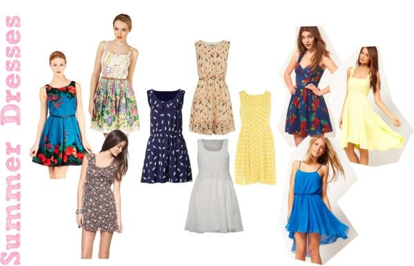 Summer Dresses, created by jazzy-izzy on Polyvore