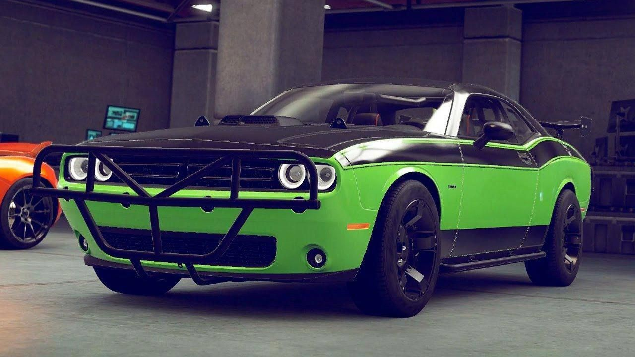 This Is The Dodge Challenger That Letty Drove In Furious7 Dodge Cars In Pretty Much In Every Fast Movie And This One Is Muscle Cars Furious 7 Cars Cars Movie