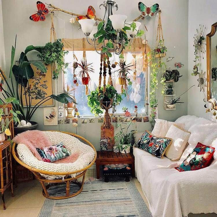 Decor Bohemian Living Room, Boho Chic Furniture And Accessories