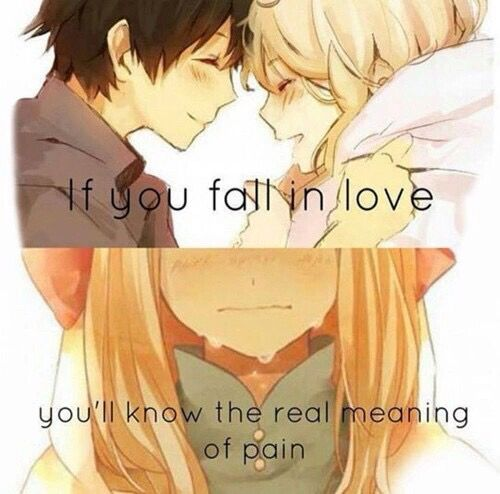 Love Anime And Pain Image