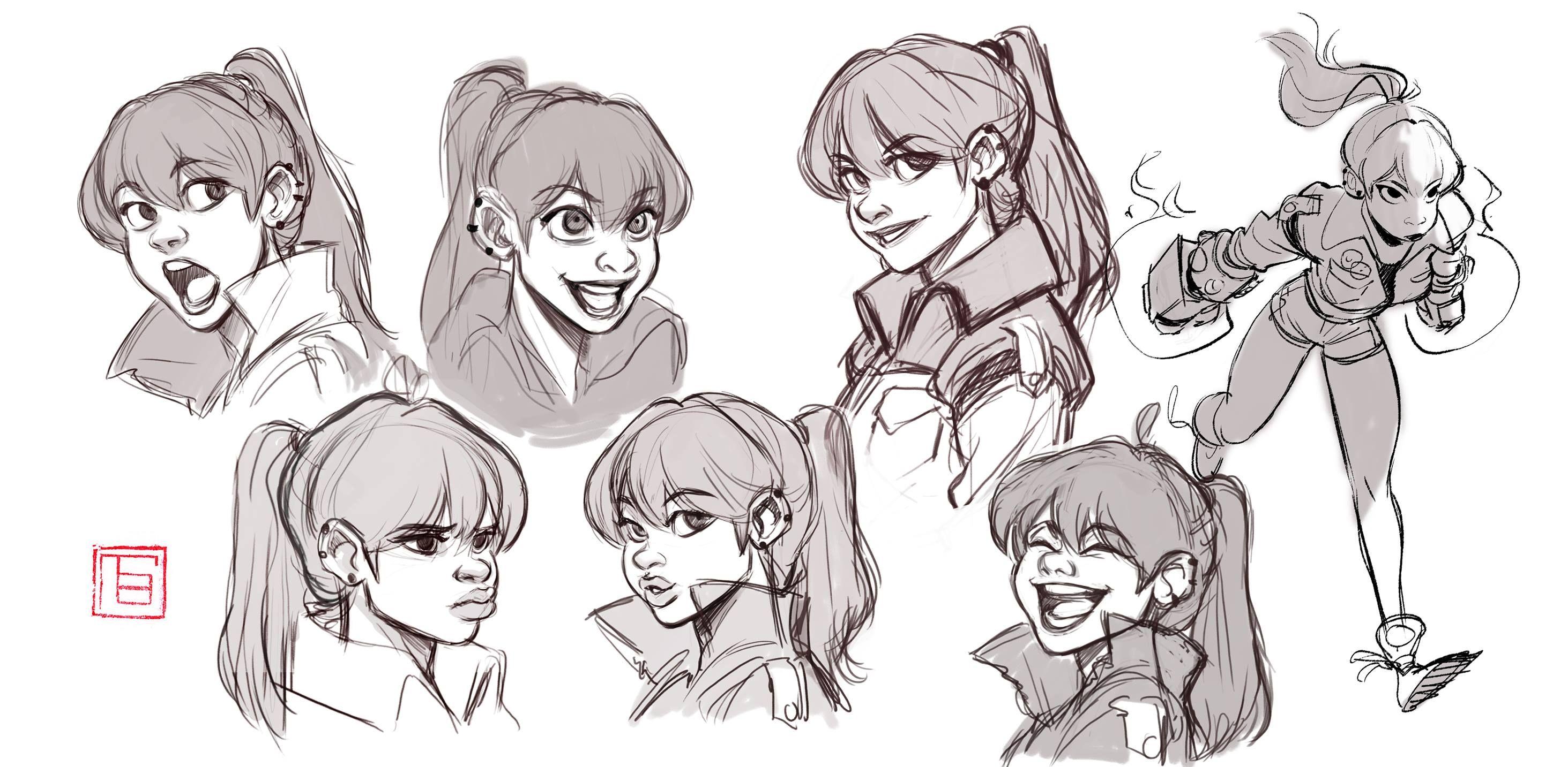 TB Choi | Chars | Pinterest | Facebook, Character design ...