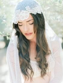 Julieta Cap Veil / / Coco Tran Fotografía