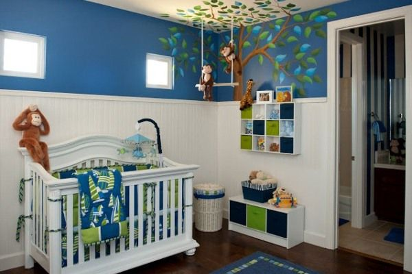 Cool decorating baby room ideas for boys nursery ideas for Cool boy nursery ideas