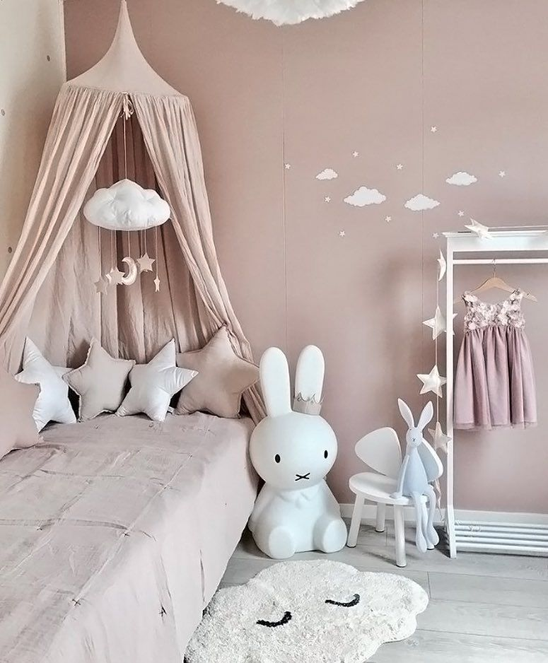 How Pretty Is This Pink Little Girl S Room By Mirajar Miffy