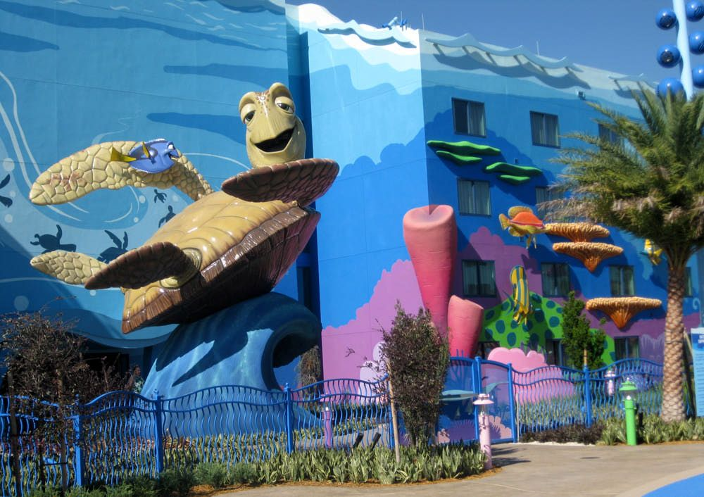 Disney S Art Of Animation Resort Has Suites For Up To 6 People