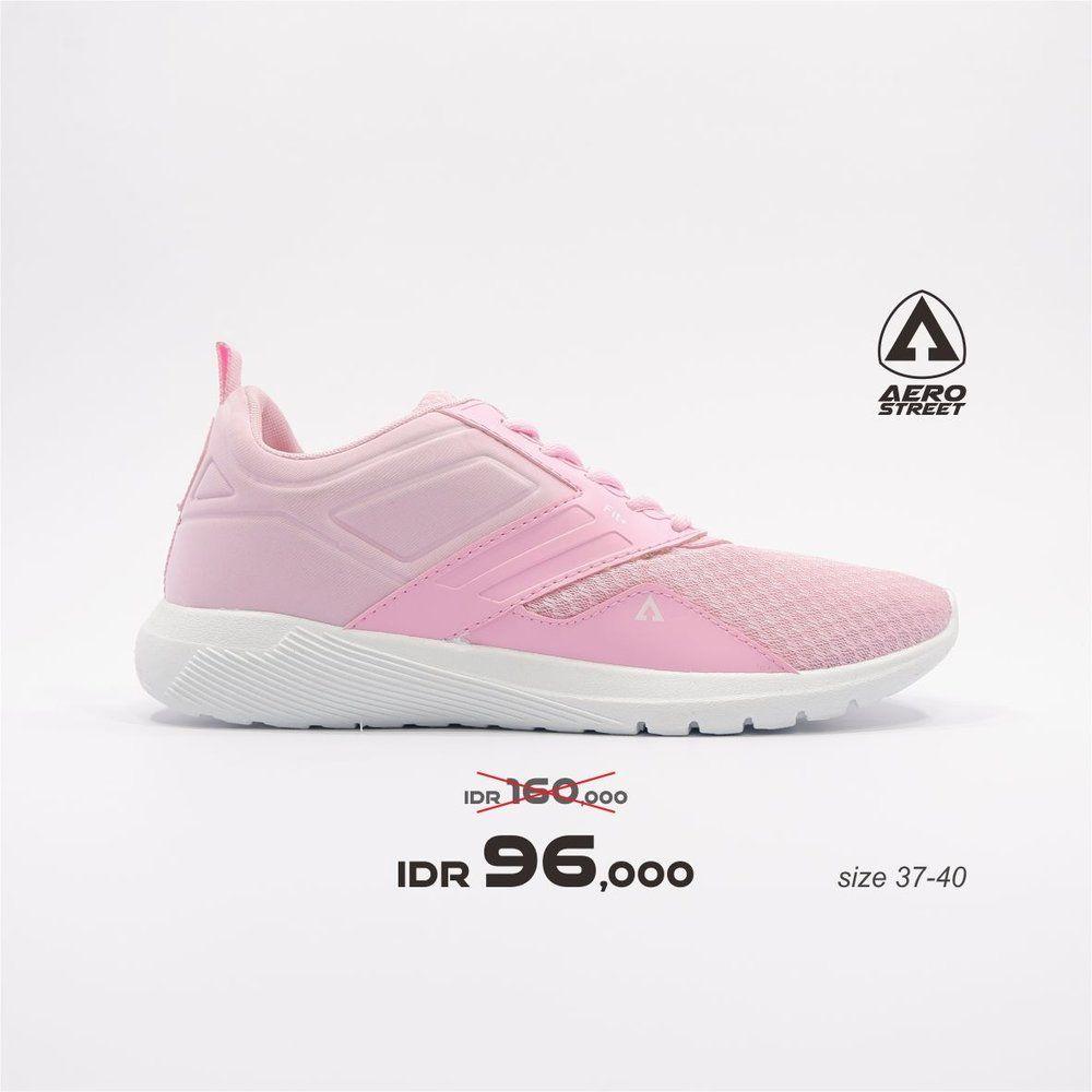 Sepatu Sneakers Casual Sport Sekolah Pria Wanita Aero Street Tidak