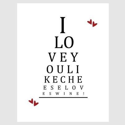 Hows Your Vision Check The Wine Eye Chart Wine Quotes To Live By