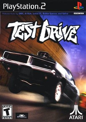 Test Drive Sony Playstation 2 Game Playstation 2 Playstation