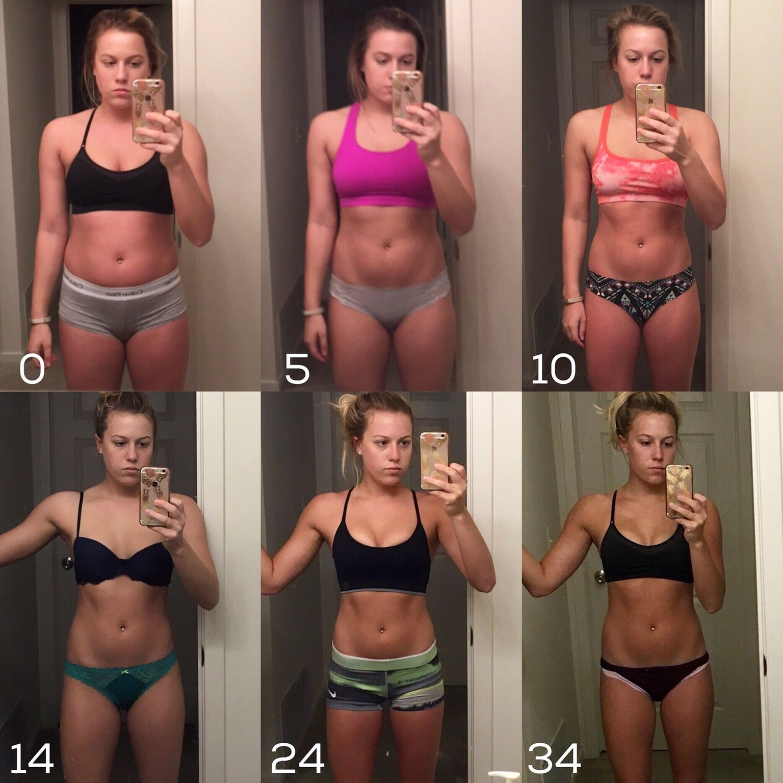 5'3 130lb to 115lb  Such a difference! | Fit After Baby