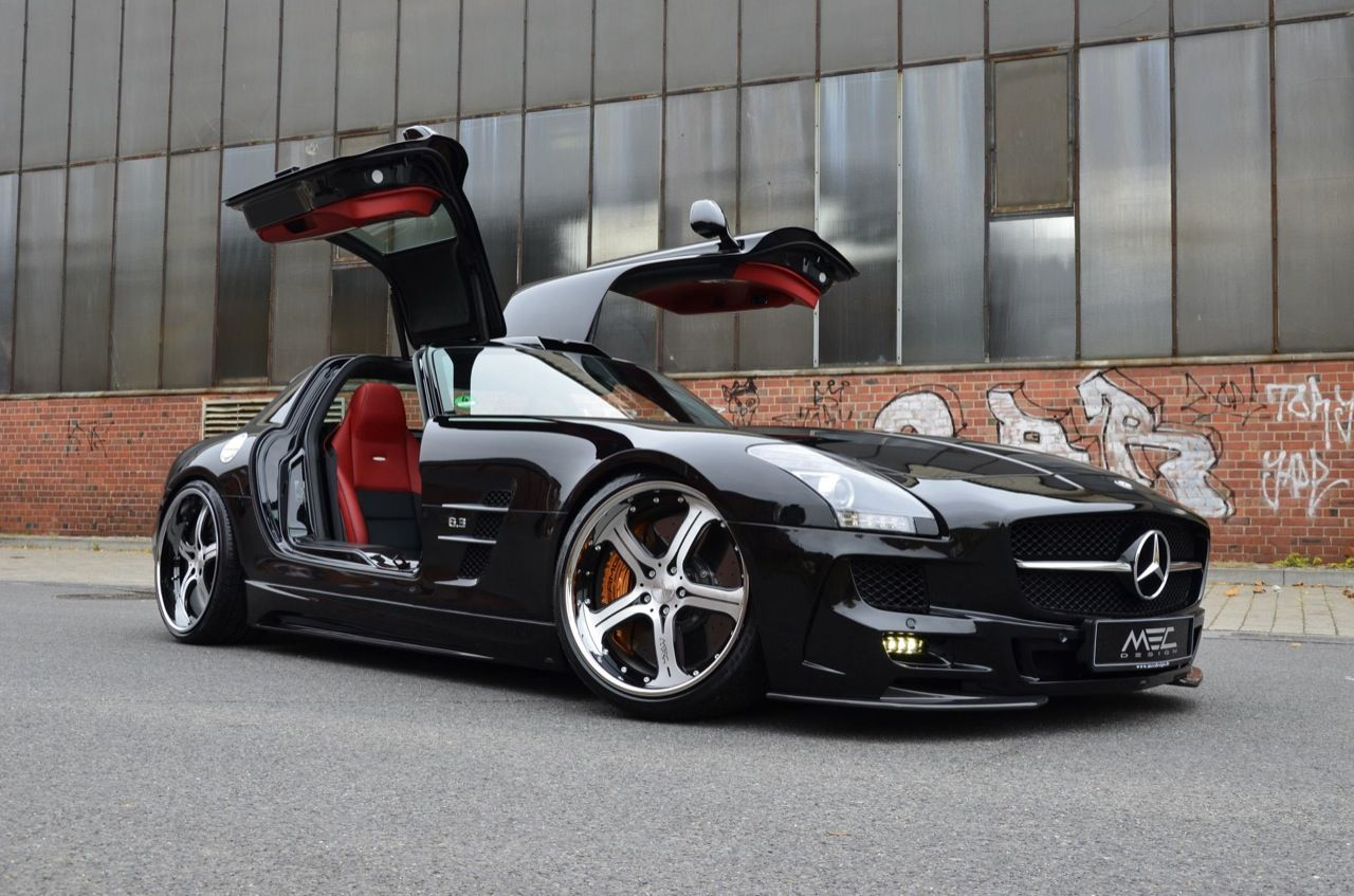 Mercedes Sls Amg Black Series Tuned By Mec Design Mercedes Benz