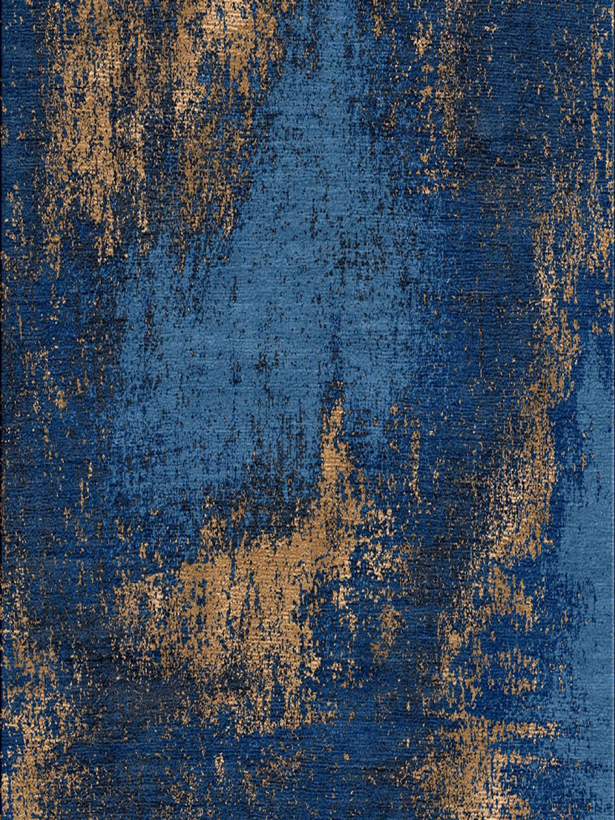 Washed Denim Copper Rug Rugs On Carpet Carpet Design