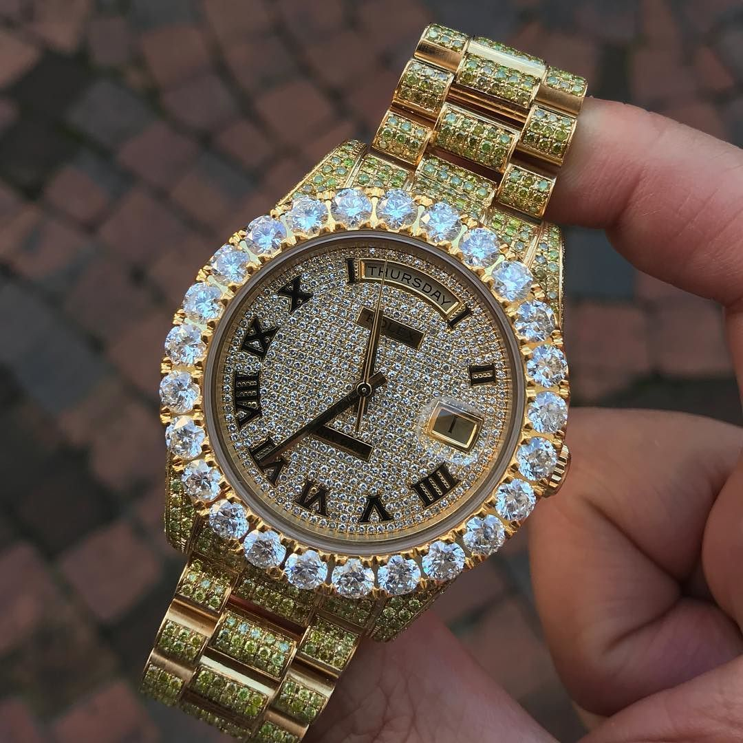 Rolex daydate mm gold rings pinterest luxury watches luxury