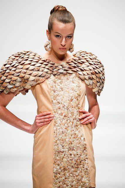 Tokyo New Designer Fashion Grand Prix SS 2013- shells