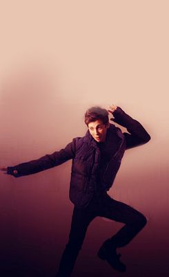 Dancing; because he's a weirdie. I love weirdies.