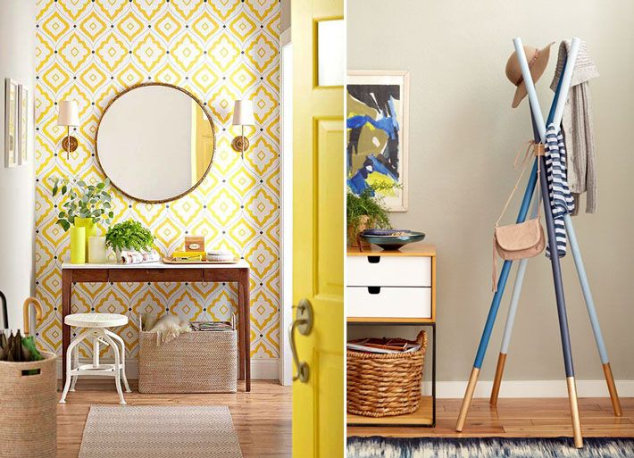 Como decorar o hall de entrada? HALL Entrada de apartamento, Blog de decoraç u00e3o e Hall de entrada # Decoração Do Hall De Entrada Do Apartamento