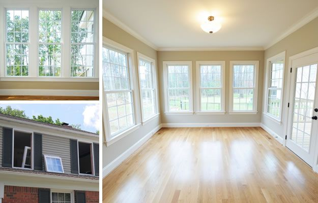 Residential Home Window Replacement And Installation. Nice Use Of The  Windows To Make Open Space