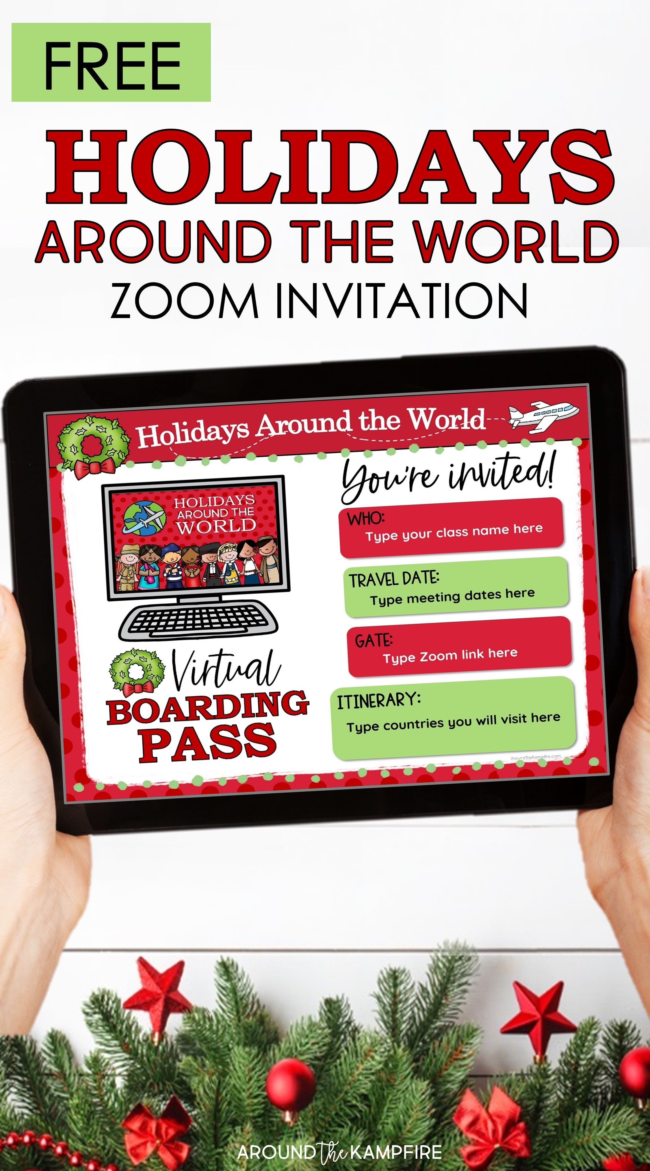 How To Teach Holidays Around The World On Zoom In 2020 Holidays Around The World Classroom Christmas Activities Teaching Holidays