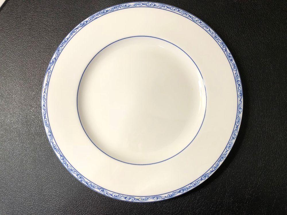 Ralph Lauren Mandarin Blue China Dinner Plate 10 1 2 Diameter