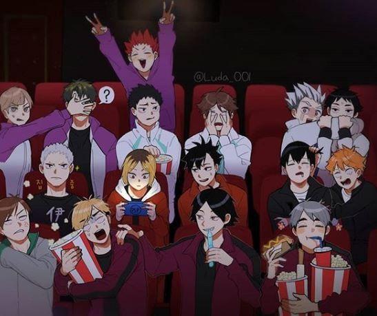 Photo of At the movies i see..
