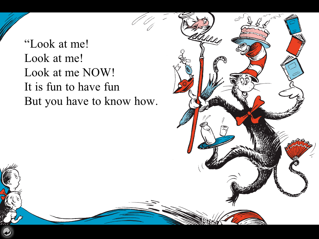 Cat In The Hat Book Quotes Bigarchitects Pinned By Www Modlar Com The Hat Book Birthday Coloring Pages Cat Hat