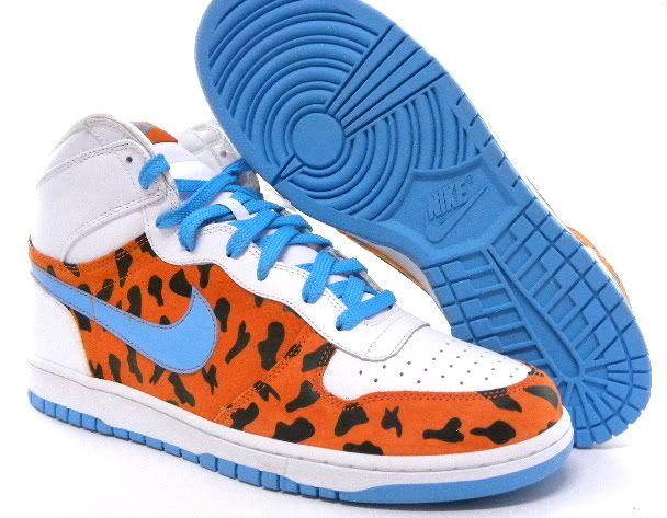 big sale ffd2b 1e79b Nike Big Dunk High QK Flintstones WhiteOrange Men Shoe