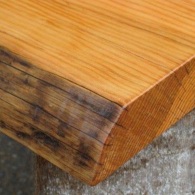 Douglas Fir Telephone Pole Live Edge Tabletop By Windfall Lumber