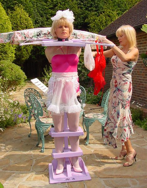 Peg, Seka sissy maid discipline view