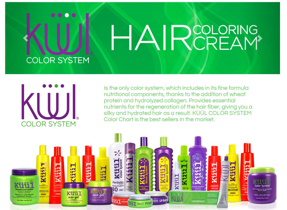Kuul Hair Coloring System http://www.aonebeauty.com/brands/Kuul.html ...