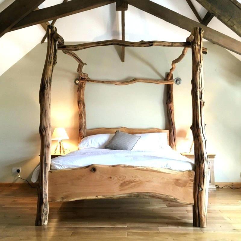Tree Bed Frame How Birch Wooden Frames Wood Beds Rustic Furniture Bedroom