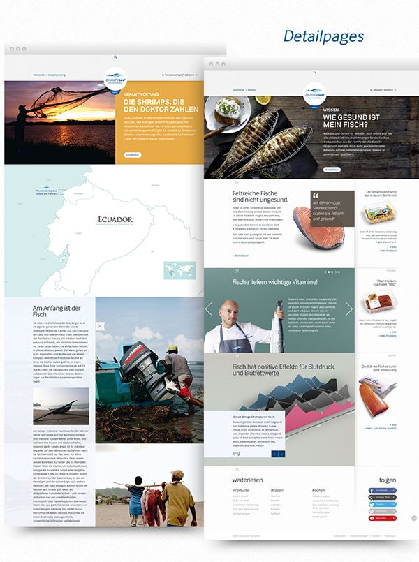 "Corporate Website / ""Deutsche See"" webdesign (mit Bildern"