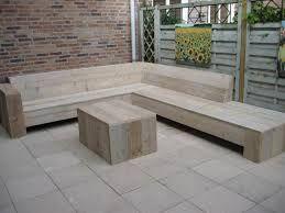 Billedresultat for loungebank tuin steigerhout havemøbler lounge