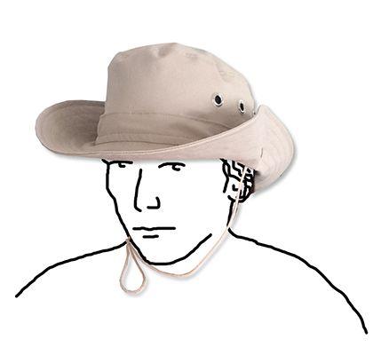 kostenloses Schnittmuster und Anleitung für einen boonie hat / Hut ...