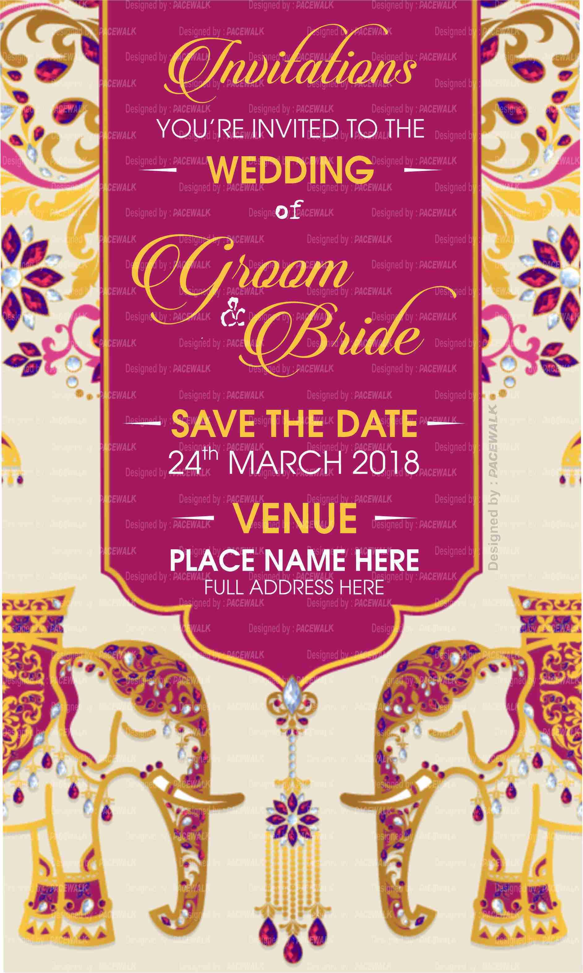 Online Wedding Invitation Card Maker Customized Wedding Ecards Simple Wedding Cards Indian Wedding Cards Wedding Cards