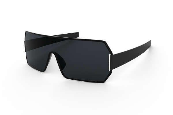 Fabulous Futuristic Sunglasses : Polaroid Eyewear