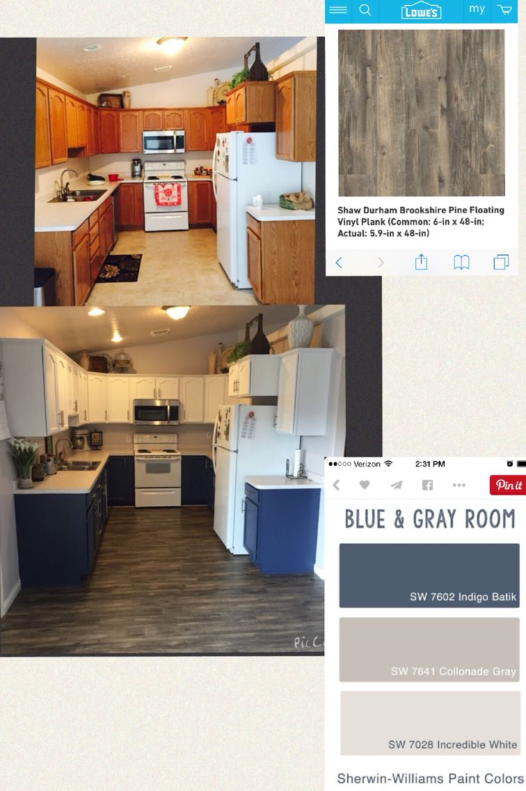 Fabulous Kitchen Remodel Indigo Batik Sherwin Williams Paint For The Onthecornerstone Fun Painted Chair Ideas Images Onthecornerstoneorg