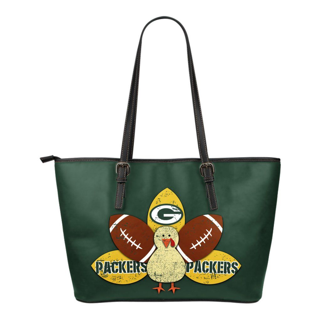 thanksgiving green bay packers leather bags – best funny store