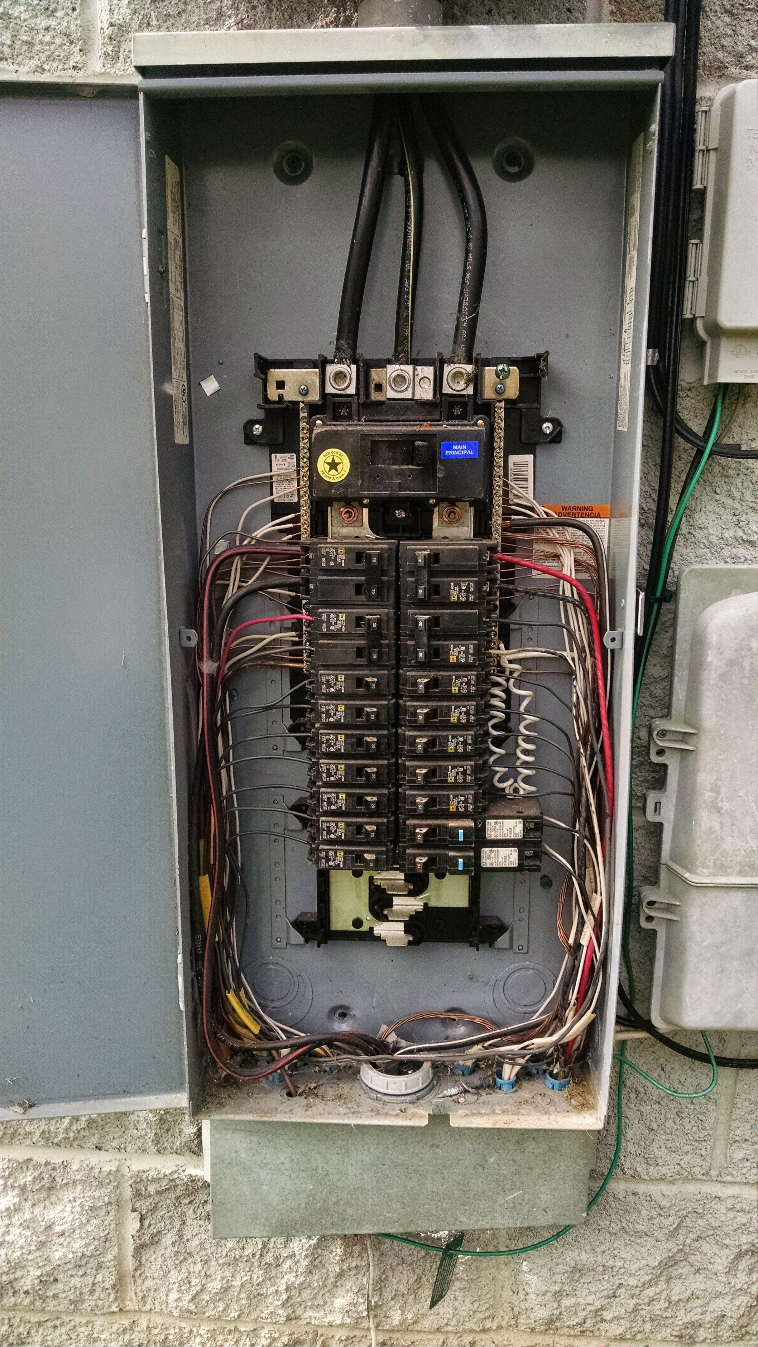 we at slagle electric service in knoxville tn changed out upgraded wiring electrical panels homeline [ 2432 x 4320 Pixel ]