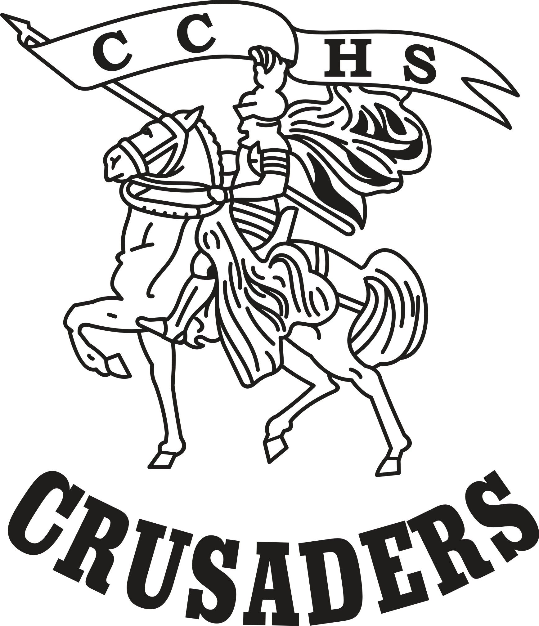 Seton Catholic Central Logo : The Crusaders 1963-1976