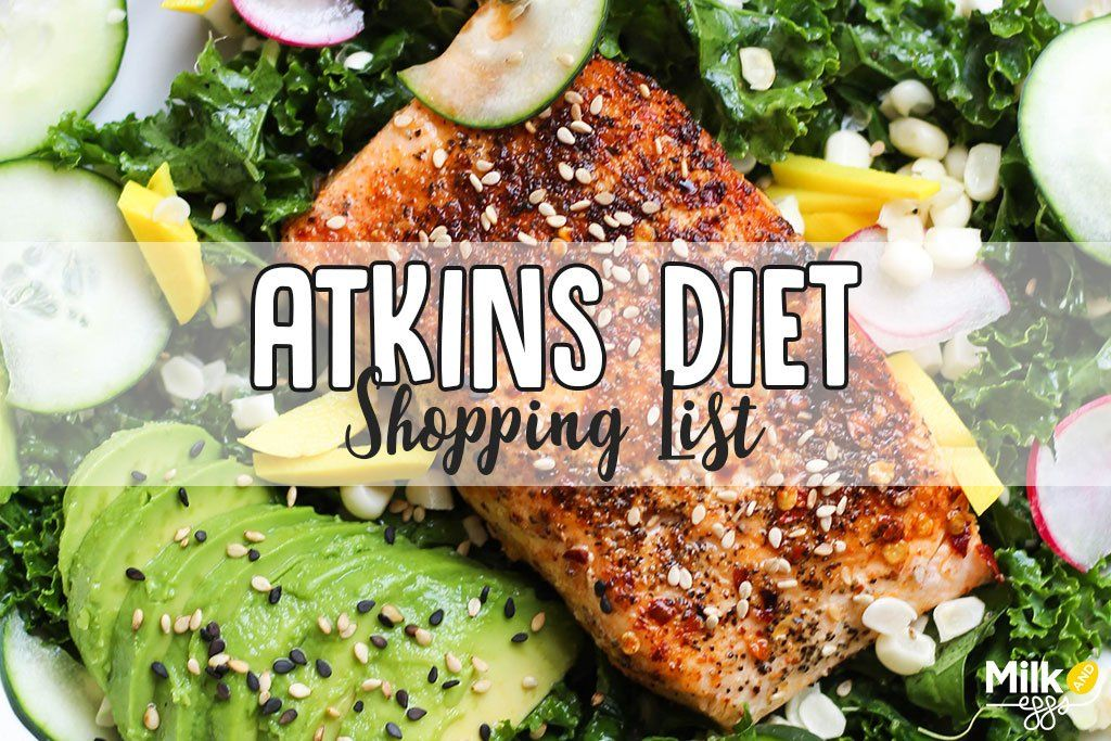 Atkins Shopping List Health & Food Tips Carbohydrates