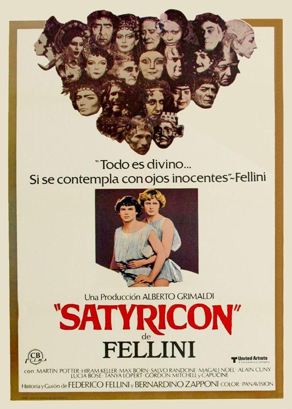 Fellini - Satyricon (1969) movie posters