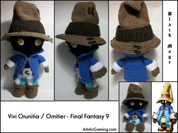 Amigurumi Vivi Free Patterns : Vivi final fantasy 9 made to order on etsy $90.00 amigurumi