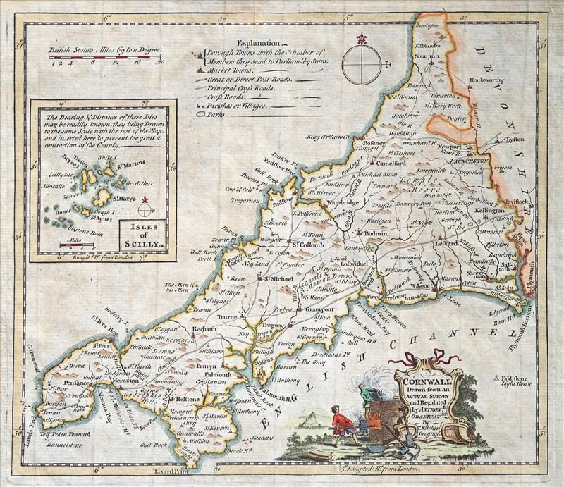 This map was first published in 1749 in the London Magazine which