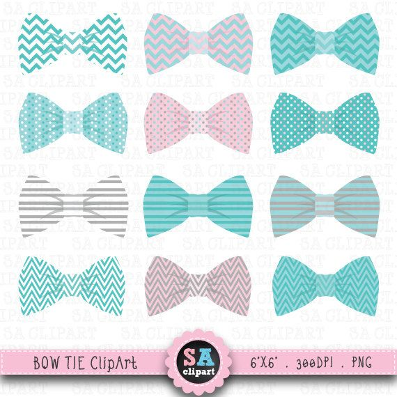 Bow Tie Clipart Bow Tie Clip Art Pack Baby Boy Ties