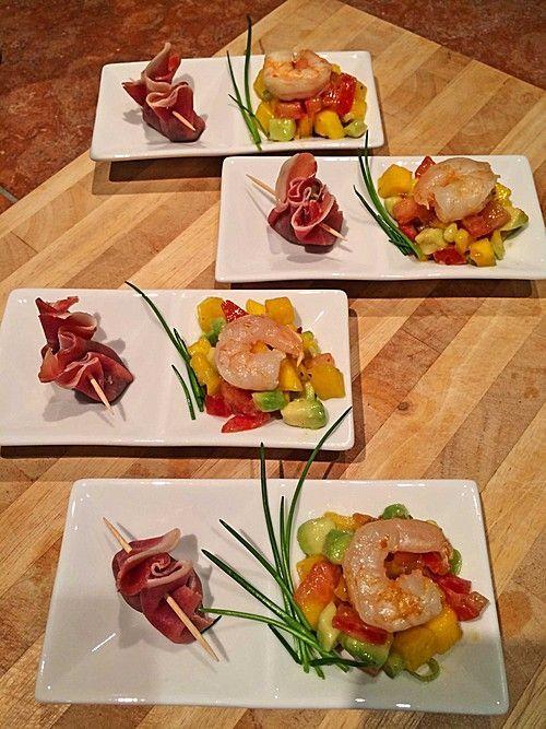 Photo of Avocado-Mango Salsa mit Garnelen von ars_vivendi | Chefkoch