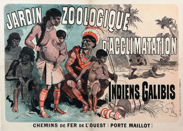 Poster From A Galibi Exhibition At The Jardin Zoologique D