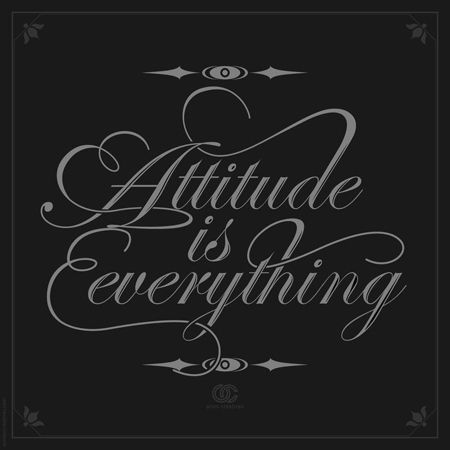 Image result for attitude is everything